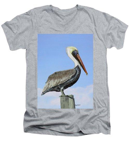 Pass Christian Sentinel Men's V-Neck T-Shirt