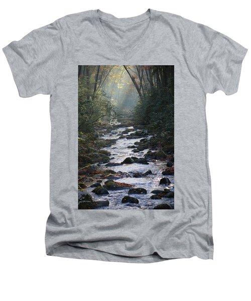Passage Of Time Men's V-Neck T-Shirt by Lamarre Labadie