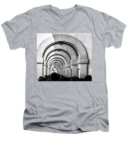 Passageway At The Arno Men's V-Neck T-Shirt
