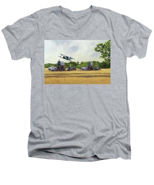 Cutting It Close Men's V-Neck T-Shirt