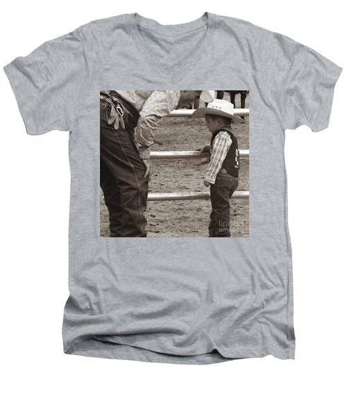 Passing On The Wisdom Men's V-Neck T-Shirt