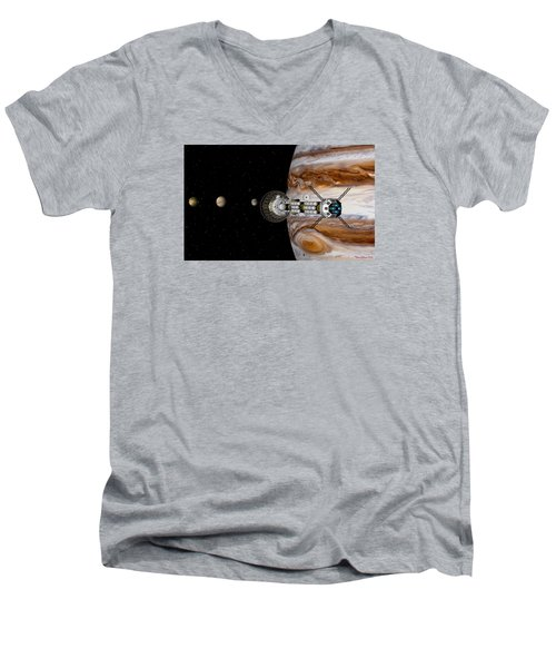 Passing The Storm Men's V-Neck T-Shirt
