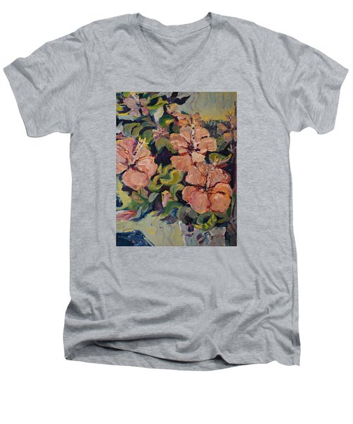 Passion In Dubrovnik Men's V-Neck T-Shirt by Julie Todd-Cundiff