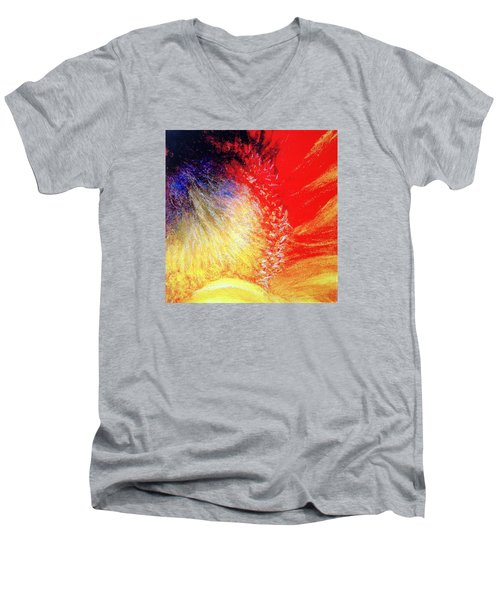 Passions From Within Men's V-Neck T-Shirt by Antonia Citrino