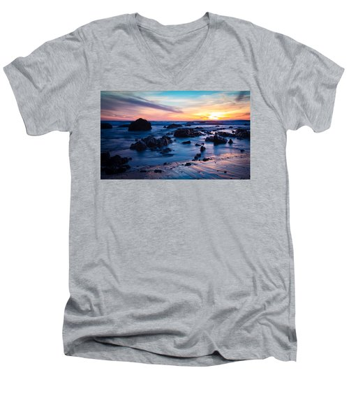 Pastel Fade Men's V-Neck T-Shirt