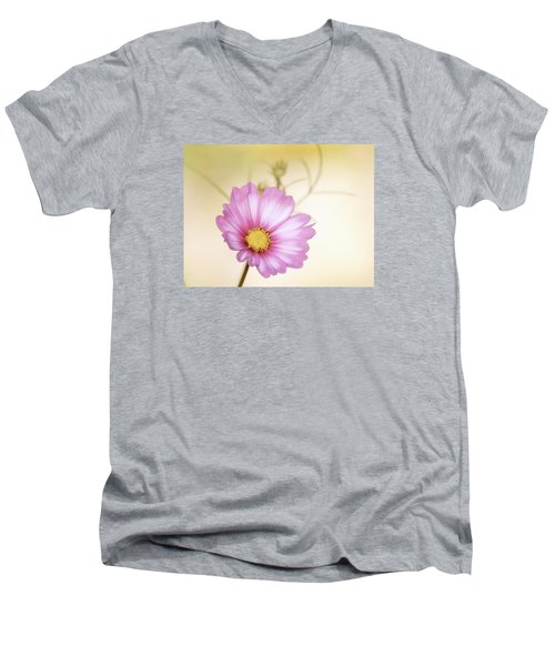 Pastel Petals Men's V-Neck T-Shirt