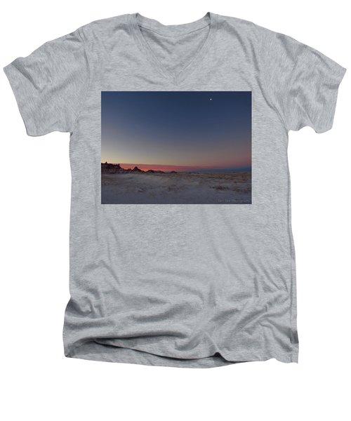 Pastel Winter Men's V-Neck T-Shirt