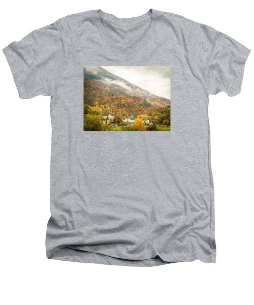 Pastoral Village Men's V-Neck T-Shirt