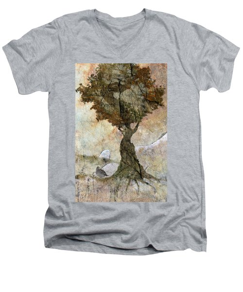 Pastoria - Year Of The Dragon Men's V-Neck T-Shirt by Ed Hall