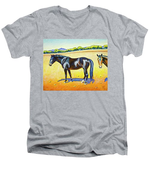 Pasture Pals 2 Men's V-Neck T-Shirt