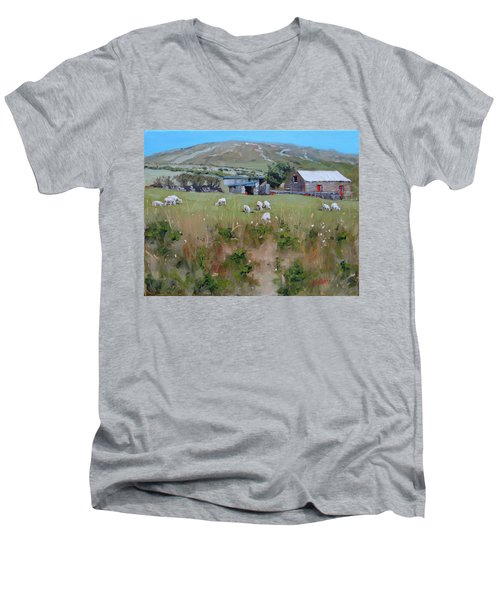 Pastures Of Ireland Men's V-Neck T-Shirt