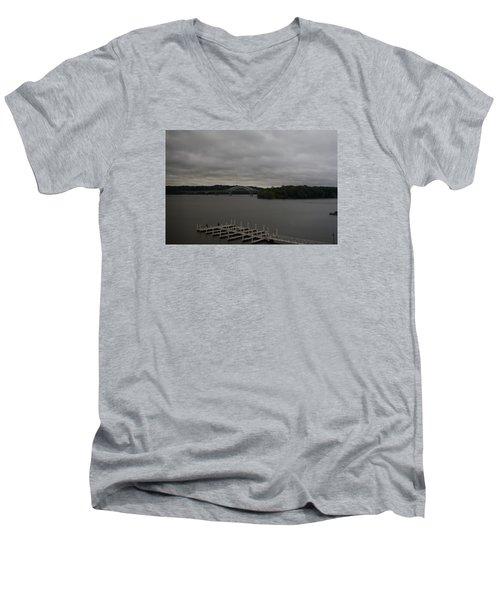 Patapsco River Men's V-Neck T-Shirt