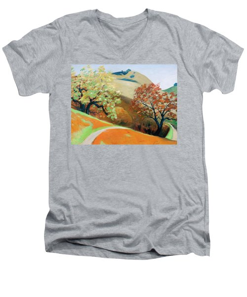 Path Men's V-Neck T-Shirt by Gary Coleman