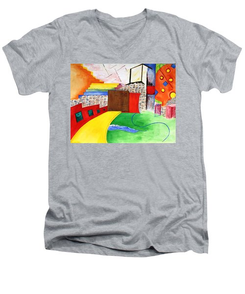 Path To Enlightenment Men's V-Neck T-Shirt