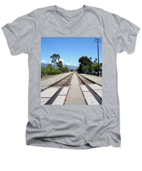 Path To Infinity Men's V-Neck T-Shirt