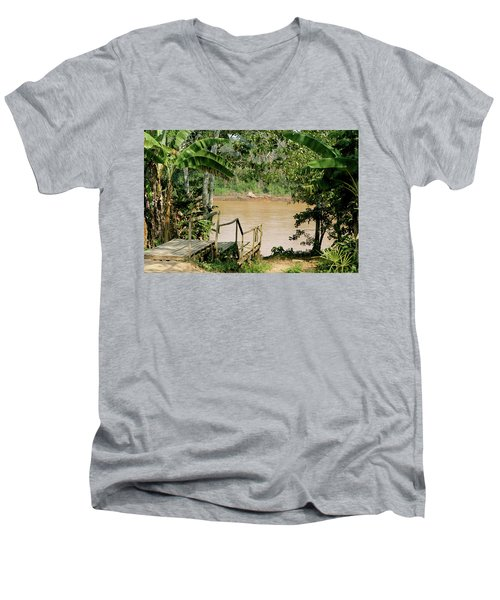 Path To The Amazon River Men's V-Neck T-Shirt
