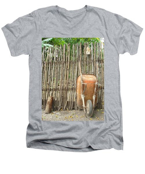 Patio 4 Men's V-Neck T-Shirt