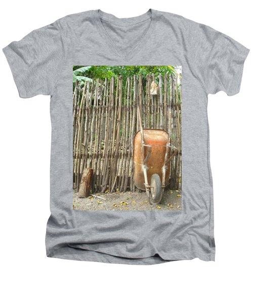 Patio 4 Men's V-Neck T-Shirt