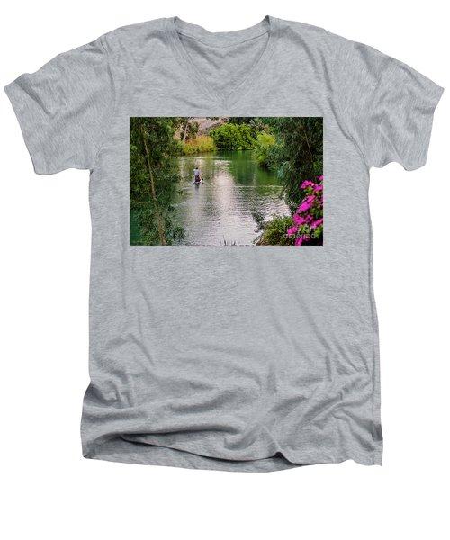 Patria Paradisi. Men's V-Neck T-Shirt