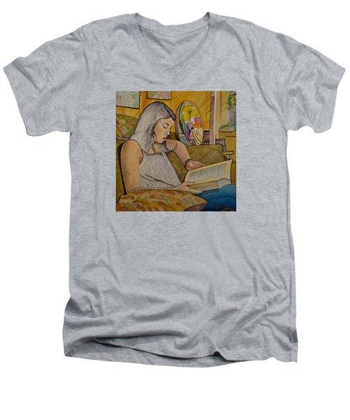 Patricia Men's V-Neck T-Shirt