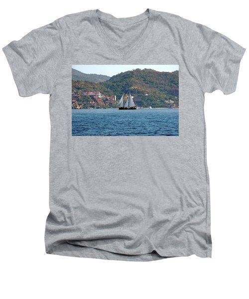 Patricia Belle Men's V-Neck T-Shirt