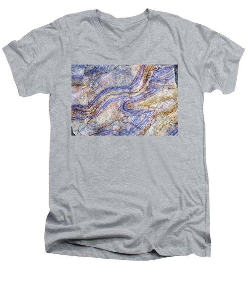 Patterns In Rock 5 Men's V-Neck T-Shirt