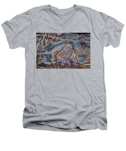 Patterns In Rock Men's V-Neck T-Shirt