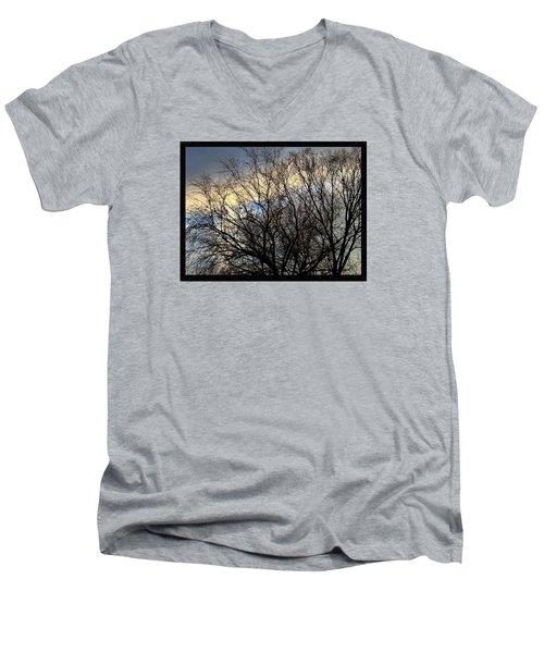 Patterns In The Sky Men's V-Neck T-Shirt