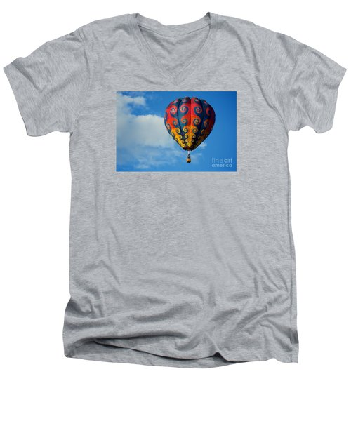 Patterns In The Sky Men's V-Neck T-Shirt