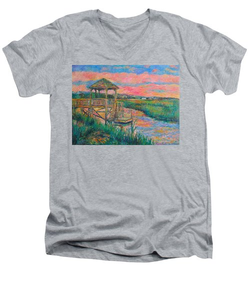 Pawleys Island Atmosphere Stage Two Men's V-Neck T-Shirt