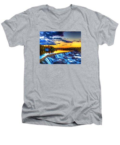 Pawtucket Falls 8354 Men's V-Neck T-Shirt