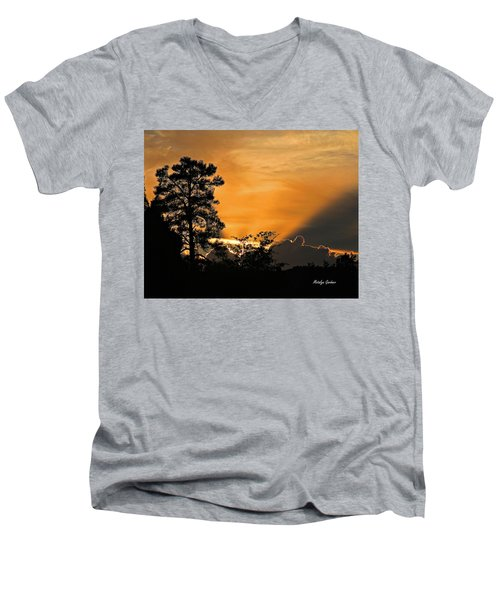 Payson Sunset Men's V-Neck T-Shirt