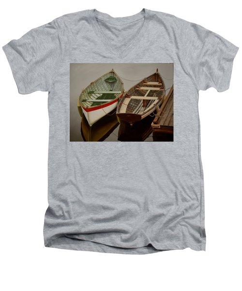 Peace At Last Men's V-Neck T-Shirt