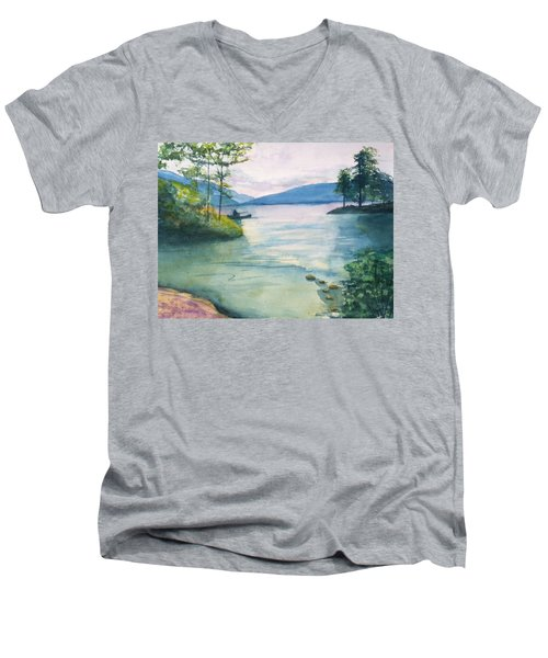 Peace On The Water  Men's V-Neck T-Shirt