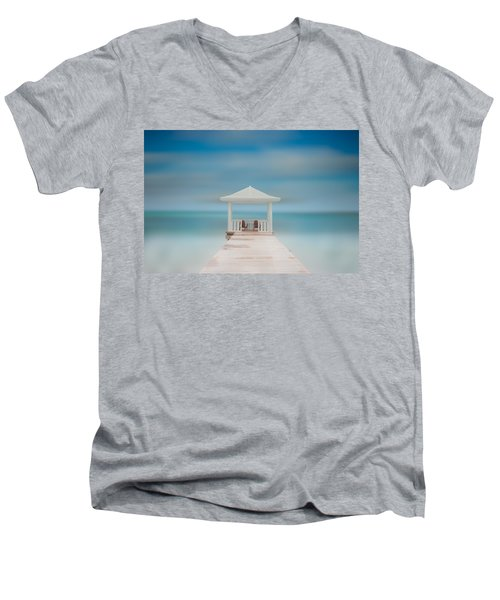 Peaceful Men's V-Neck T-Shirt