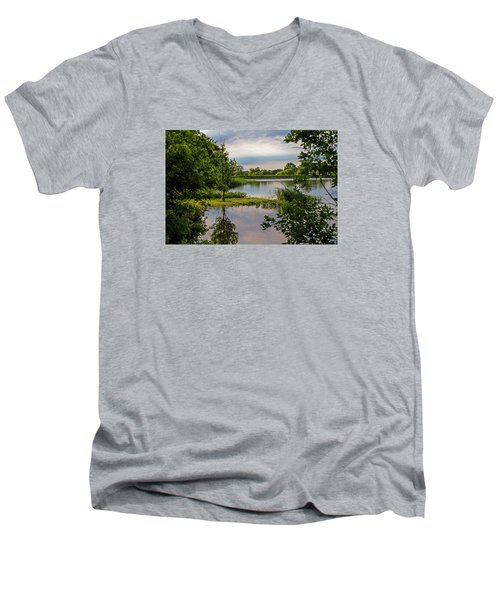 Peaceful Evening Men's V-Neck T-Shirt
