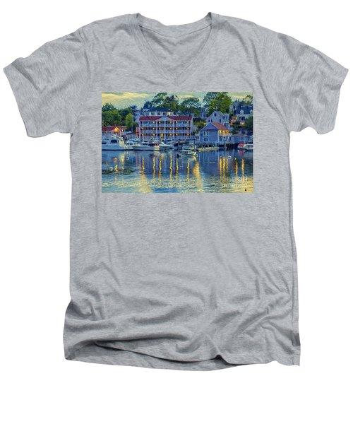 Peaceful Harbor Men's V-Neck T-Shirt