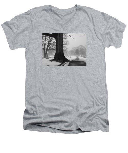 Peaceful Path Men's V-Neck T-Shirt