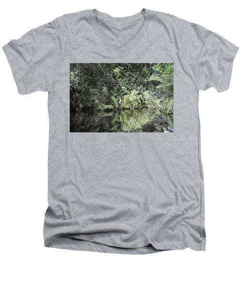Peaceful Reflections Men's V-Neck T-Shirt