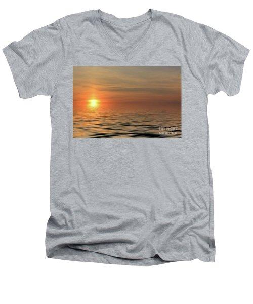 Peaceful Sunrise Men's V-Neck T-Shirt