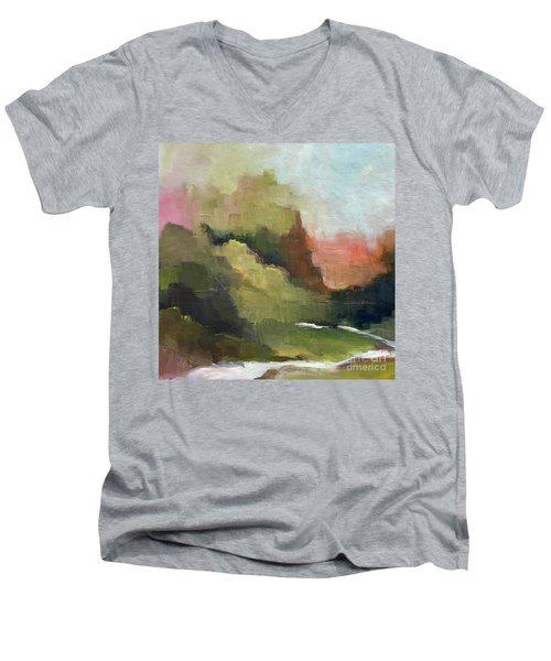 Peaceful Valley Men's V-Neck T-Shirt