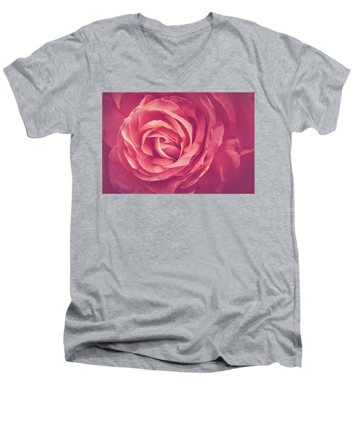Blooms And Petals Men's V-Neck T-Shirt