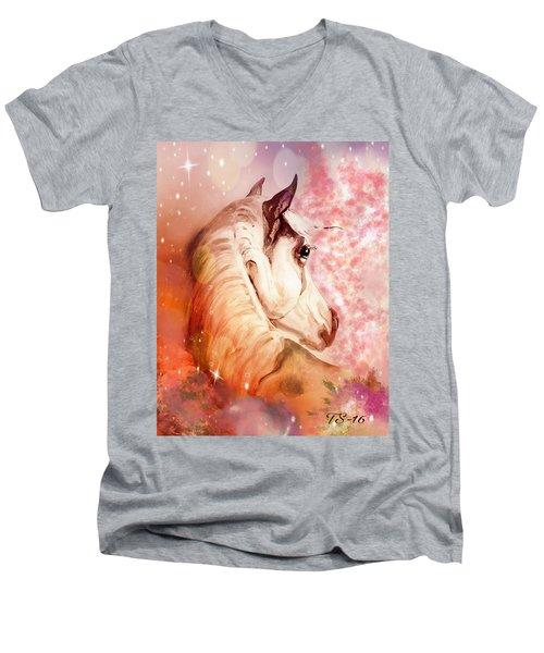 Peaches Men's V-Neck T-Shirt