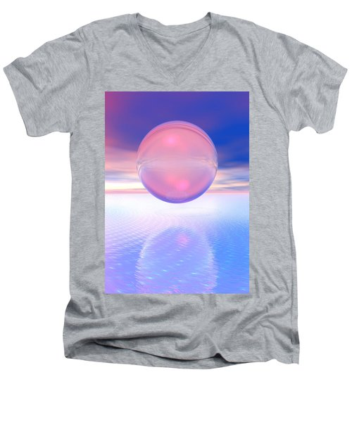 Peachy Men's V-Neck T-Shirt