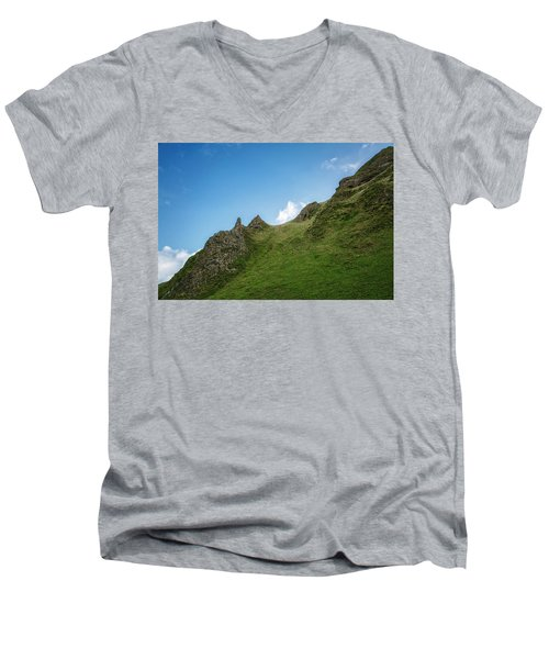Peaks Men's V-Neck T-Shirt