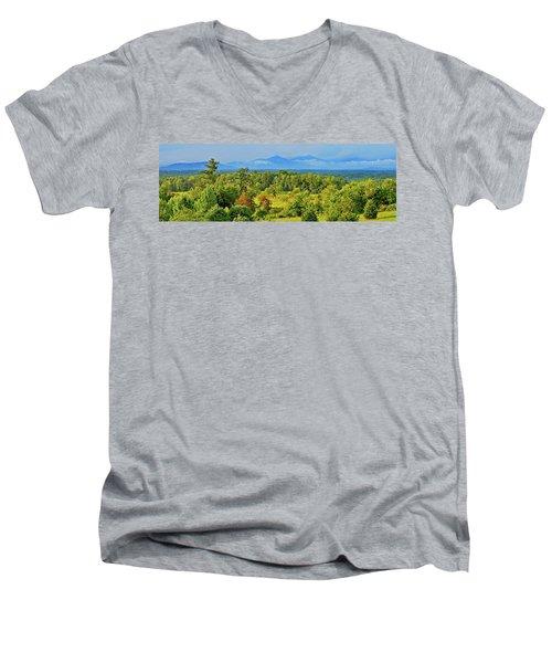 Peaks Of Otter Rainstorm Men's V-Neck T-Shirt
