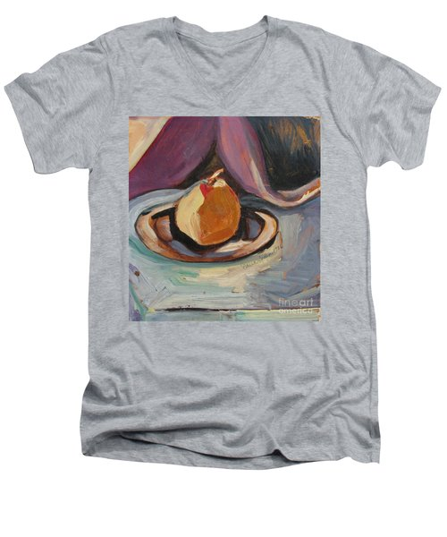 Pear Men's V-Neck T-Shirt