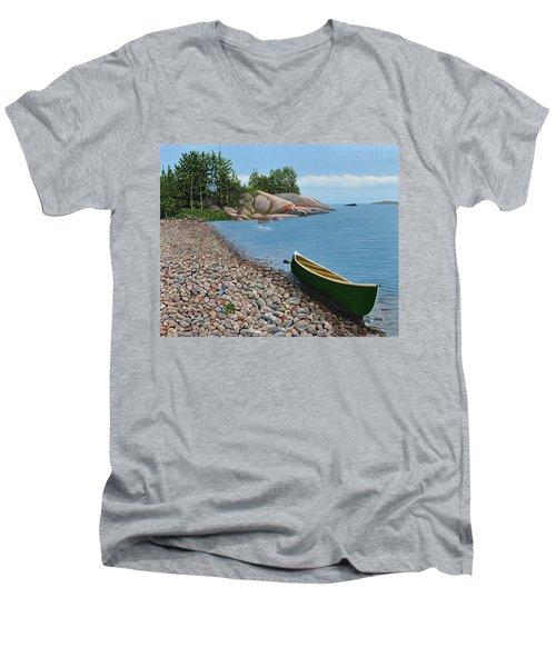 Pebble Beach Men's V-Neck T-Shirt