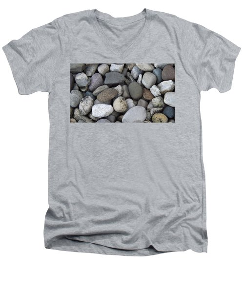 Pebbles 1 Men's V-Neck T-Shirt
