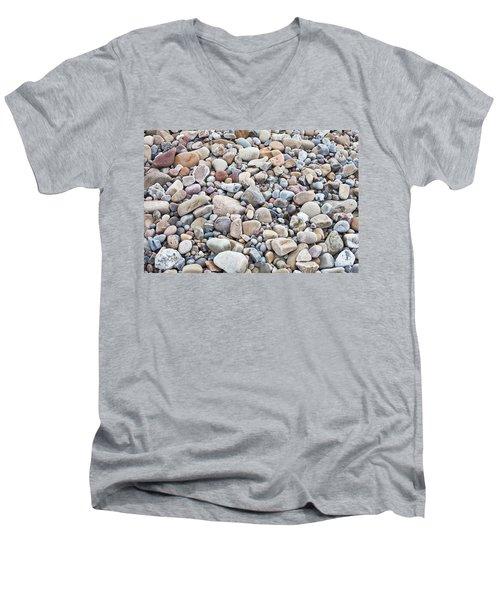 Pebbles Men's V-Neck T-Shirt